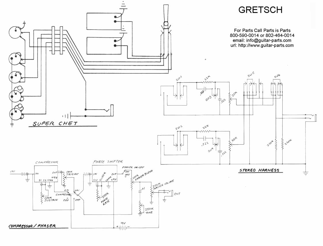 Lucille Wiring Diagram Trusted Schematics Diagrams Epiphone Pick Up Schematic Rh Ogmconsulting Co Bb King