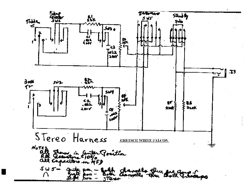 project-o-sonic white falcon wiring schematic needed : vintage gretsch  guitars : the gretsch pages  the gretsch pages