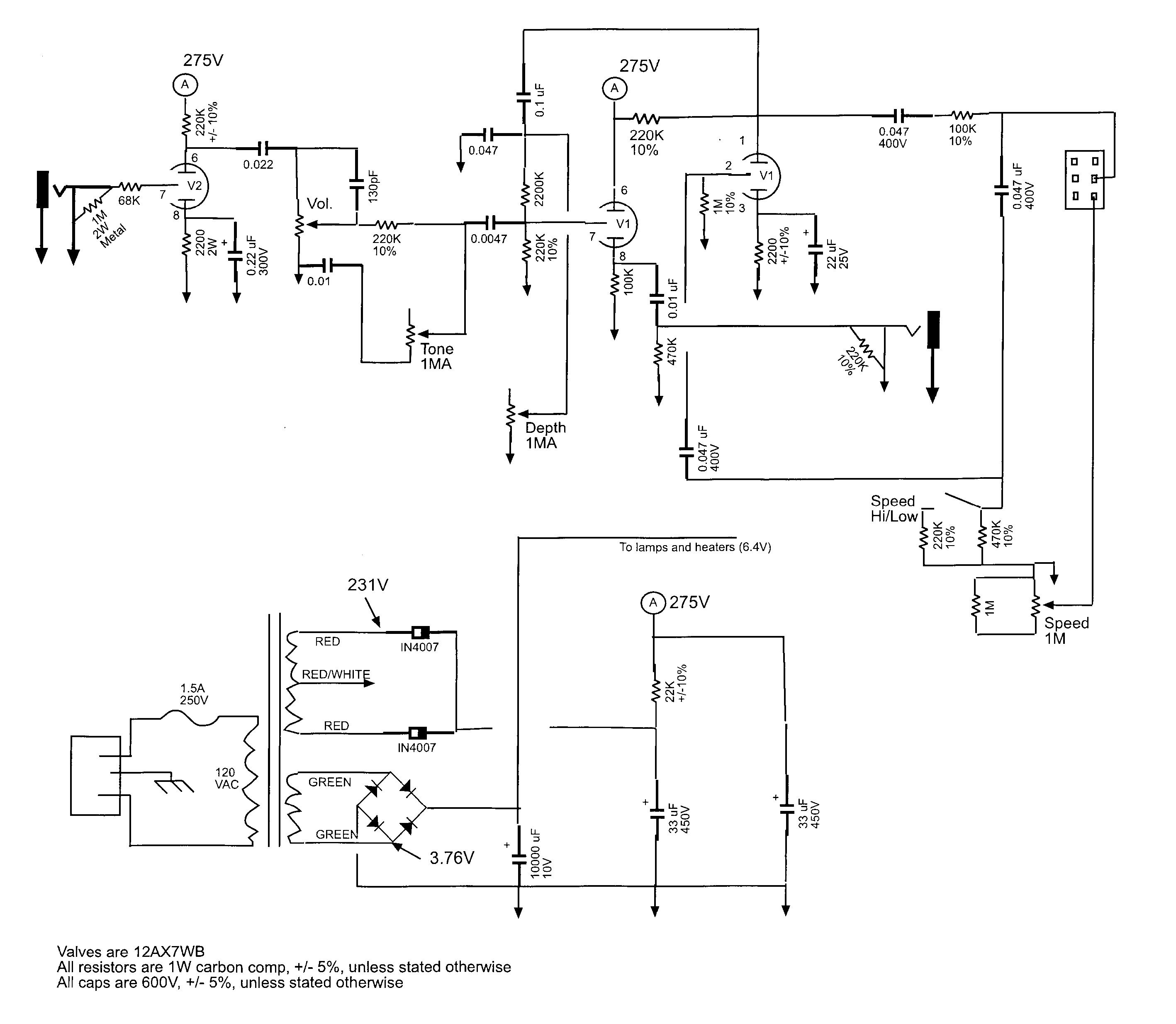 Matchless Spitfire Schematic Diagrams Kendrick Amp Schematics Carvin Mts 3200